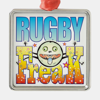 Rugby Freaky Freak Christmas Ornament
