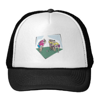Rugby Game Trucker Hat