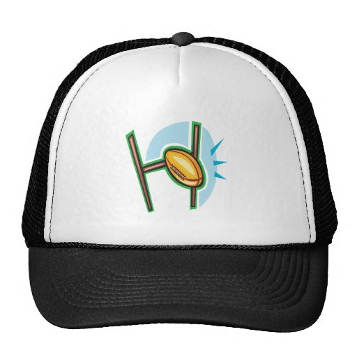 Rugby Goal Trucker Hats
