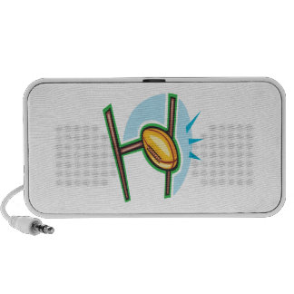 Rugby Goal iPod Speakers