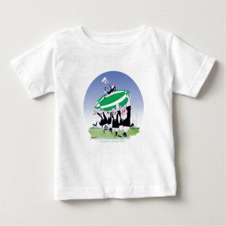 rugby hakka 3 cheers, tony fernandes baby T-Shirt