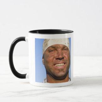 Rugby hooligan mug