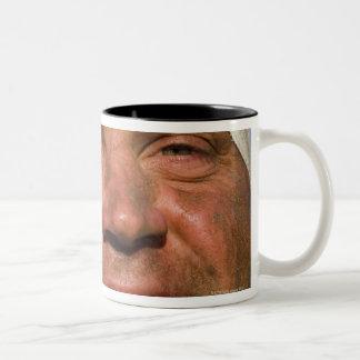 Rugby hooligan Two-Tone coffee mug