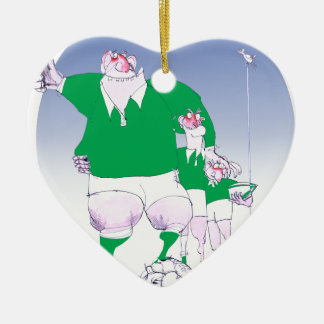 rugby irish chums, tony fernandes christmas ornament