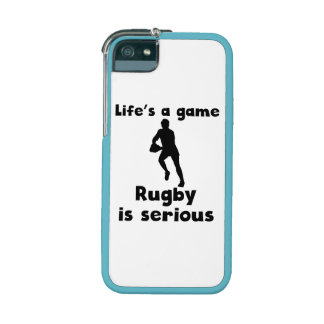 Rugby Is Serious iPhone 5/5S Cover