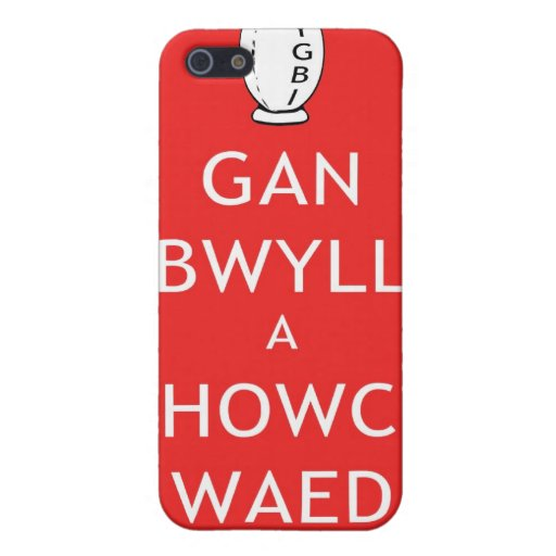 Rugby Keep Calm & Give Blood (Welsh) iPhone 5 Cases