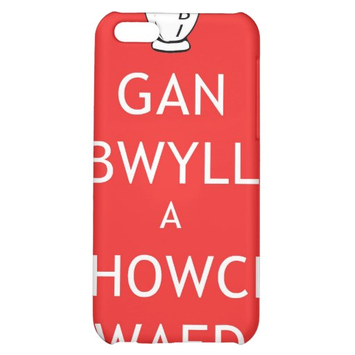 Rugby Keep Calm & Give Blood (Welsh) iPhone 5C Cases