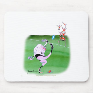 rugby kick, tony fernandes mouse mat