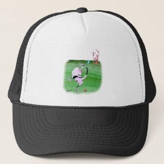 rugby kick, tony fernandes trucker hat