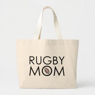 Rugby Mom Jumbo Tote Bag
