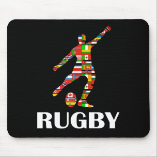 Rugby Mouse Mat