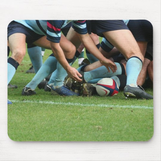 rugby mouse pad