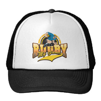 Rugby My Game Mesh Hat