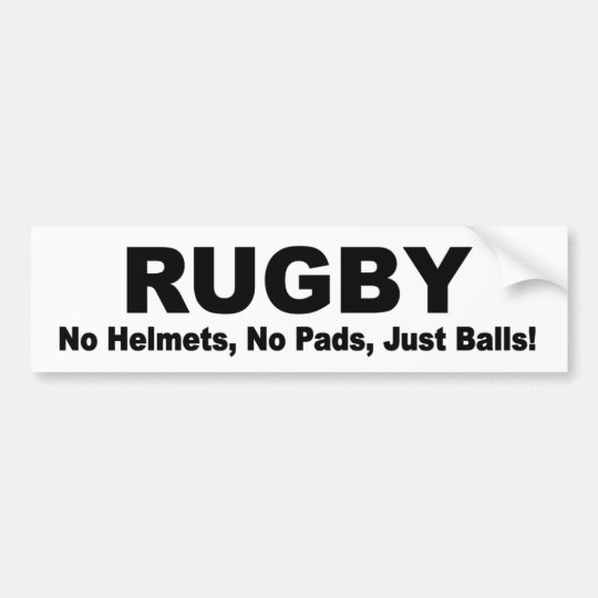 Funny Rugby Bumper Stickers