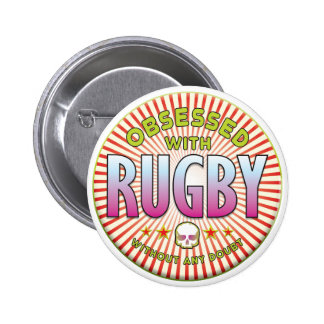 Rugby Obsessed R Pin