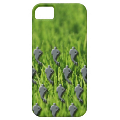rugby on grass iPhone 5 case