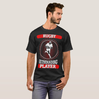 Rugby Outstanding Player Sports Outdoors Tshirt
