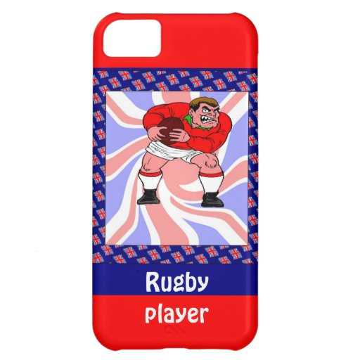 Rugby player cover for iPhone 5C