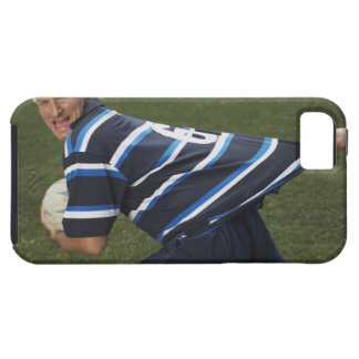 Rugby player getting shirt pulled iPhone 5 covers