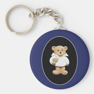 Rugby Player Key Ring