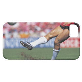 Rugby Player Kicking the Ball iPhone 5 Case