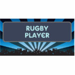 Rugby Player Marquee Cut Out