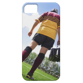 Rugby player on the sideline with refreshments iPhone 5 case