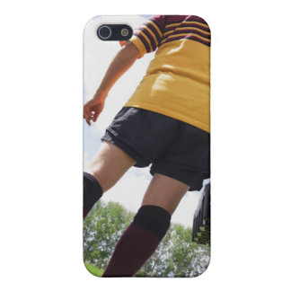 Rugby player on the sideline with refreshments iPhone 5 covers