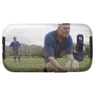 Rugby player positioning ball on rugby pitch samsung galaxy SIII covers