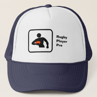 Rugby Player Pro Trucker Hat
