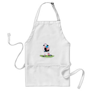 rugby player, tony fernandes standard apron
