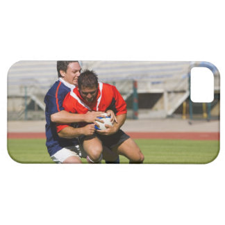 Rugby players fighting for ball barely there iPhone 5 case