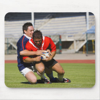 Rugby players fighting for ball mouse pads