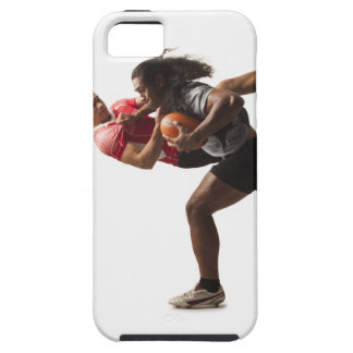 Rugby players tackling for ball iPhone 5 covers