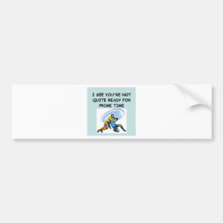 RUGBY png Bumper Stickers