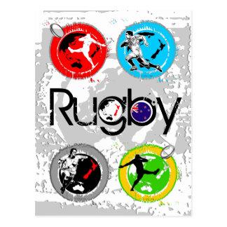 Rugby Postcard 4