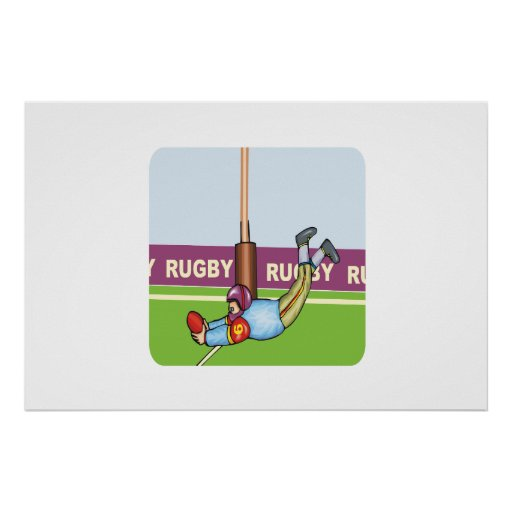 Rugby Print