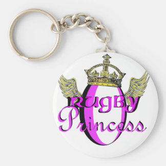 rugby princess key ring