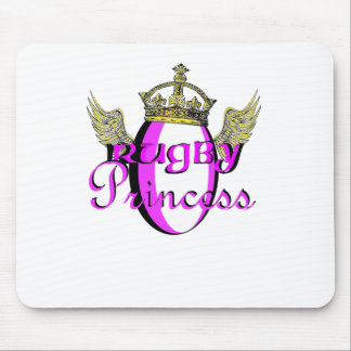 Rugby Princess Mouse Mat