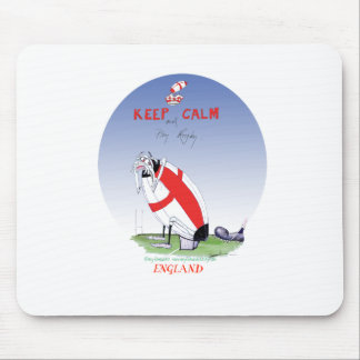 rugby - putting the boot in, tony fernandes mouse mat