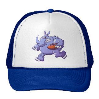 Rugby Rhinoceros Mesh Hat