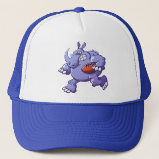 Rugby Rhinoceros Trucker Hat