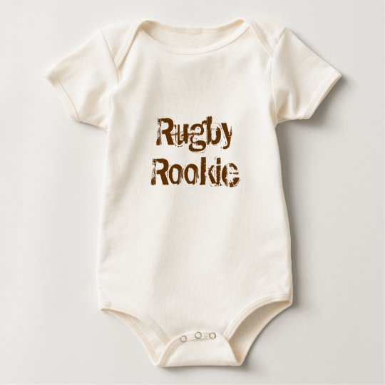 Rugby Rookie Baby Bodysuit