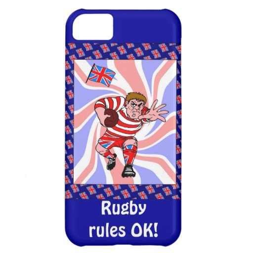 Rugby rules, OK! iPhone 5C Case