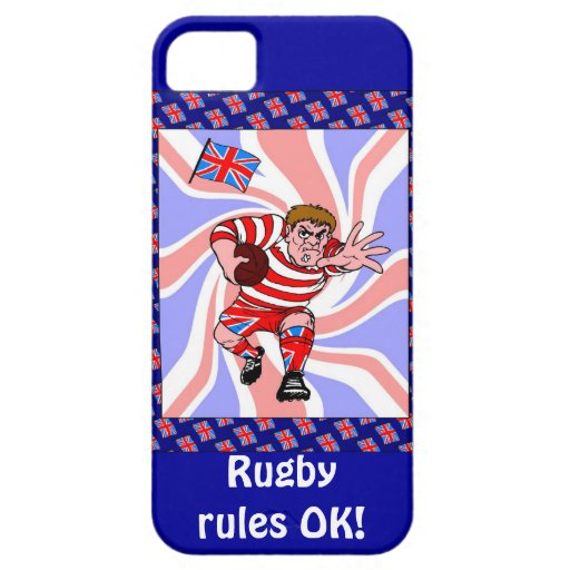 Rugby Rules, OK! iPhone 5 Cases