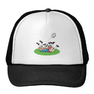 Rugby Scrum Trucker Hat