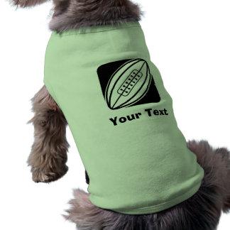 Rugby Sleeveless Dog Shirt