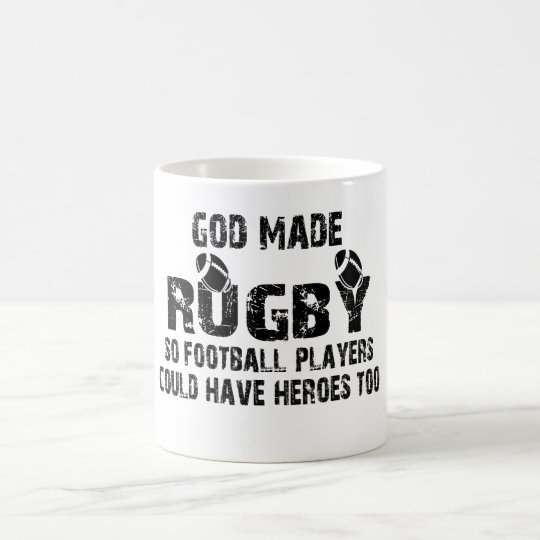 Rugby - So Football Players Have Heroes Coffee