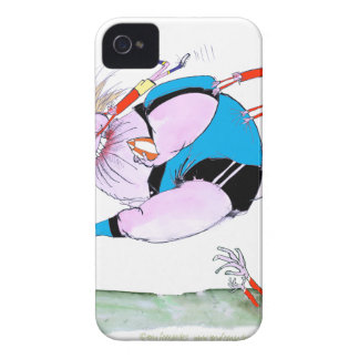rugby steamroller, tony fernandes iPhone 4 cover