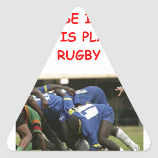 RUGBY TRIANGLE STICKERS